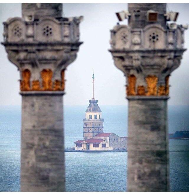 Kız Kulesi.İstanbul-Türkiye Fotoğrafçılık http://turkrazzi.com/ppost/355854808042716235/