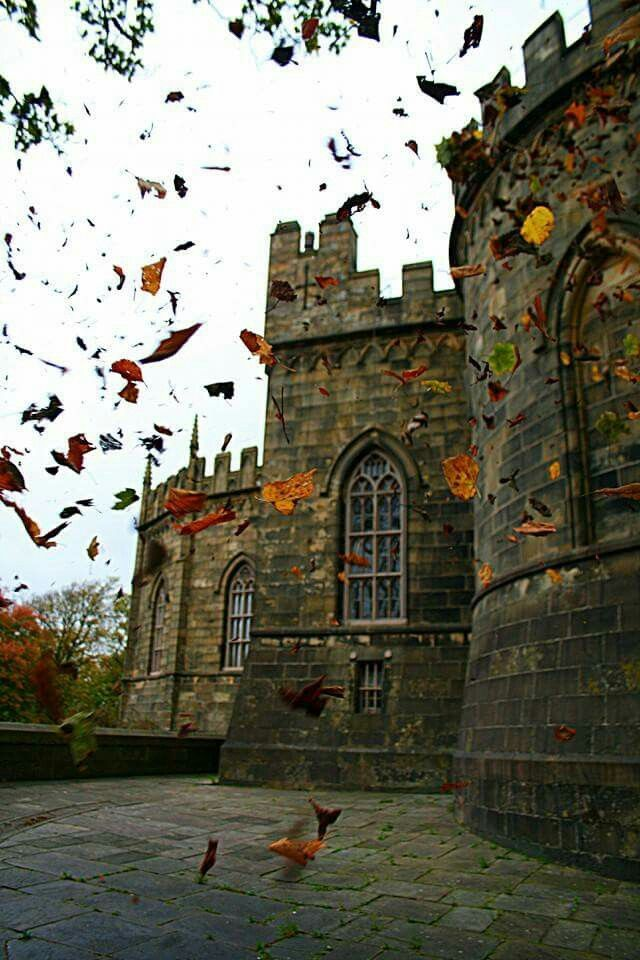 Lancaster Castle, Lancashire, England, founded in the 11th century.