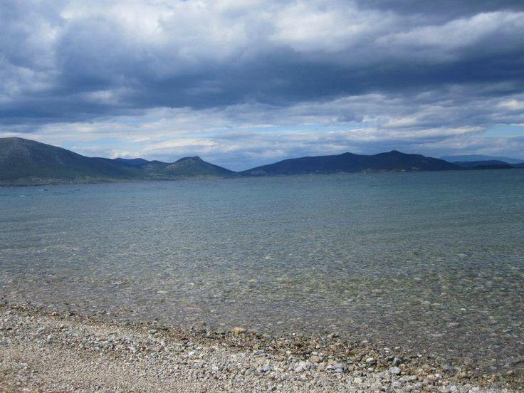 Euboea Greece Winter