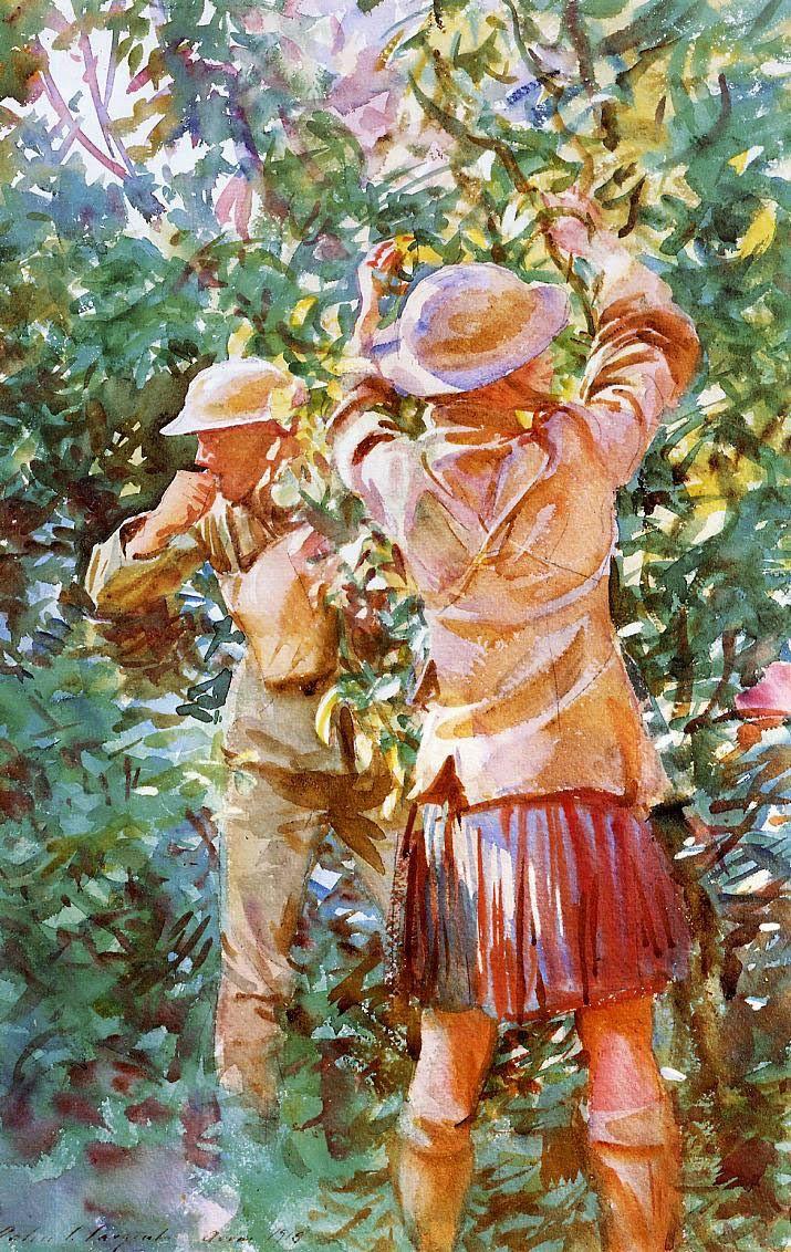 ART & ARTISTS / John Singer Sargent 'Thou Shall Not Steal'