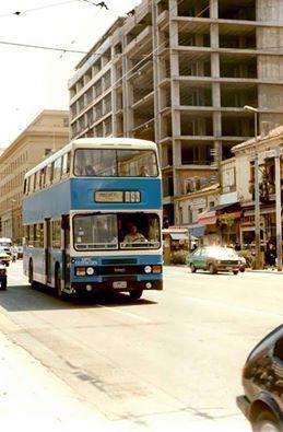 Διώροφα αστικά αυτοκίνητα  το 1983, κυκλοφόρησαν μόλις 20 τον αριθμό.