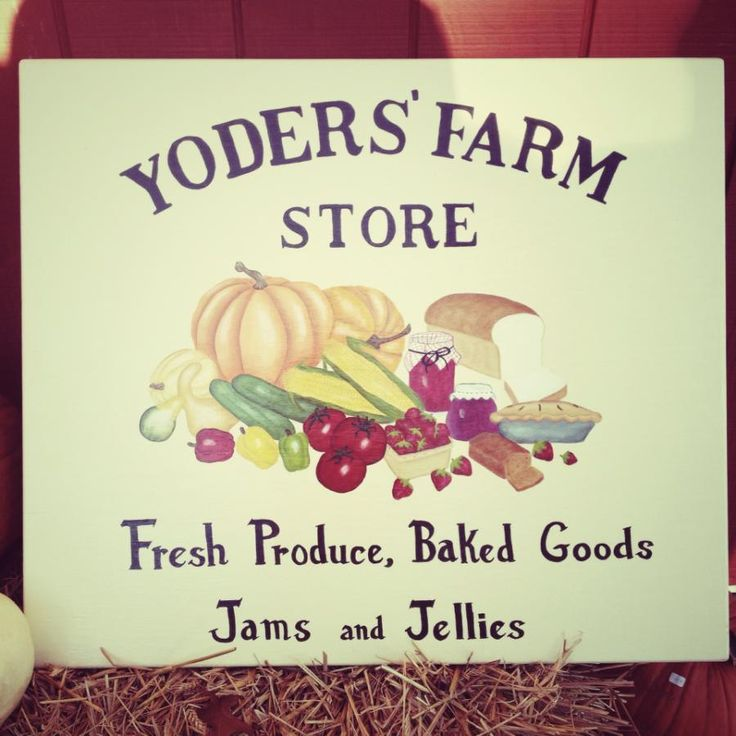 Good afternoon folks!  I just wanted to point you to this quick blog post.  It covers the following things. - The New Farm Store Sign (yay! :) ) - A tip for cleaning your pumpkins! - Today's schedule (hayrides, openings and closings)  Check it out! http://wp.me/p3X041-24  #CornMaze #lynchburgVA #Pumpkins #YodersFarmVA