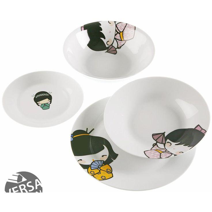 Hokku Designs Style 4 19 Piece Dinnerware Set. Design StileGeschirr  SetsJapanServiceGeschirrPorzellanChinaGeschenkideenObjekt