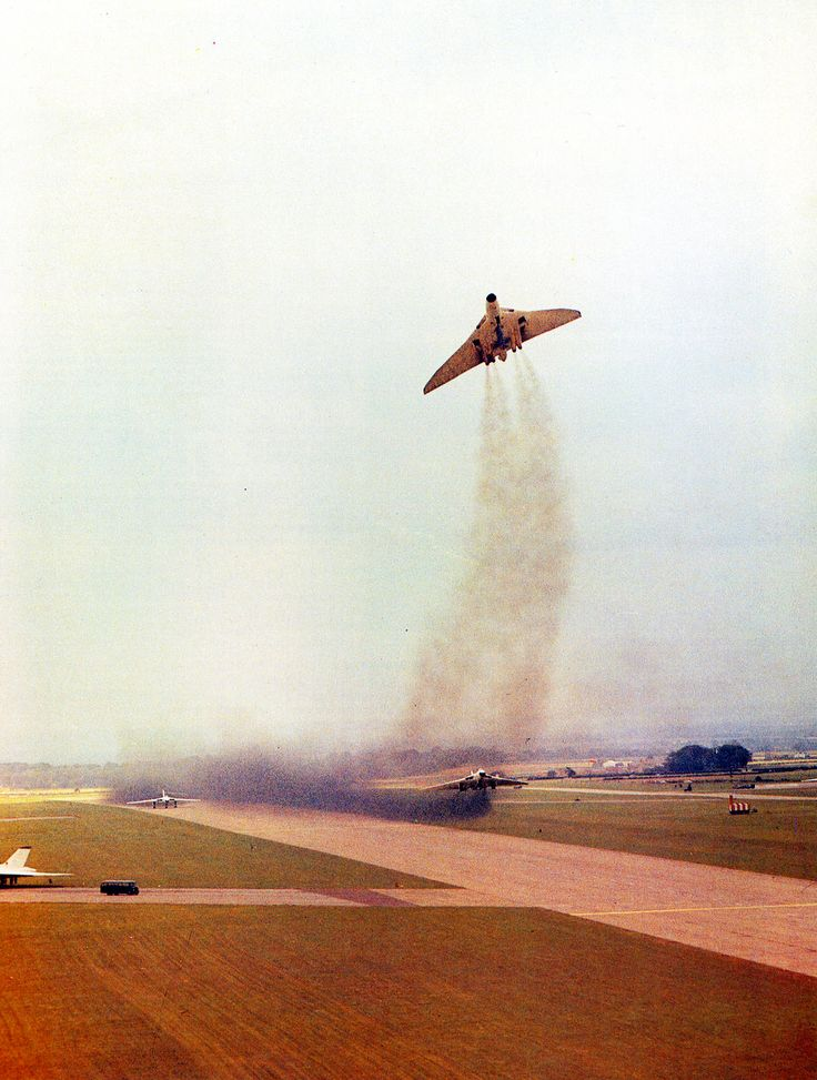 Vulcan in take off