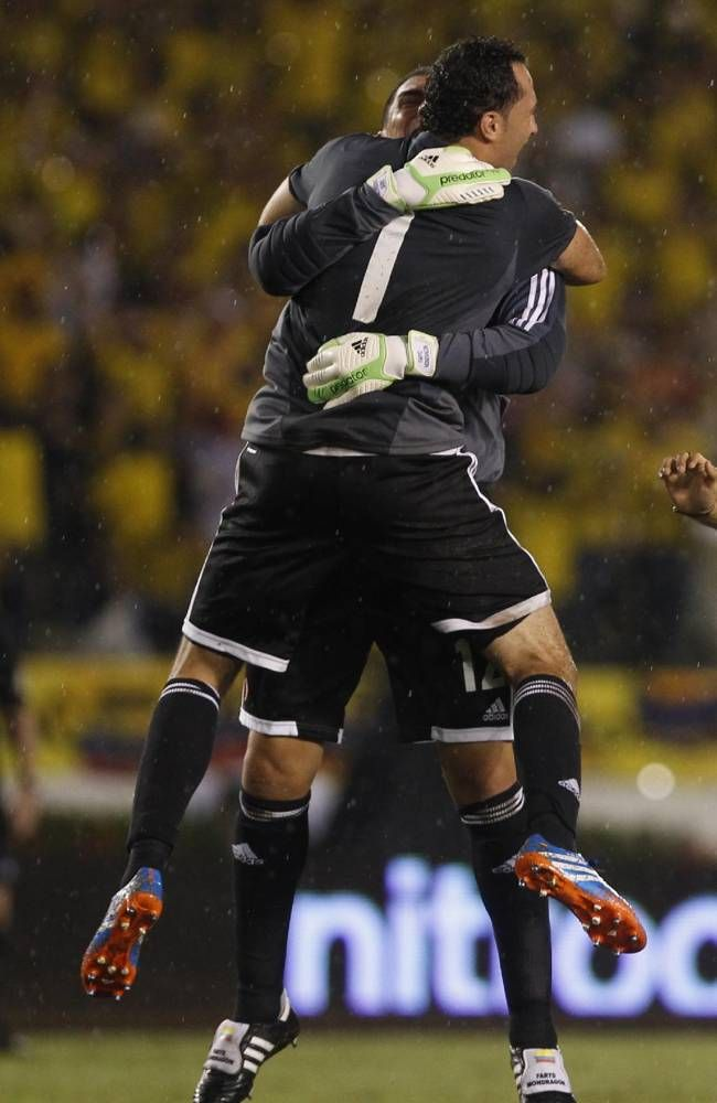 @Colombia Selection: Colombia 1 Ecuador 0: #FarydMondragon #DavidOspina
