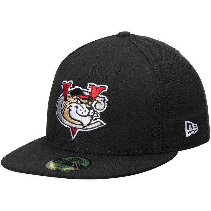Tri-City ValleyCats New Era Authentic Road 59FIFTY Fitted Hat - Black