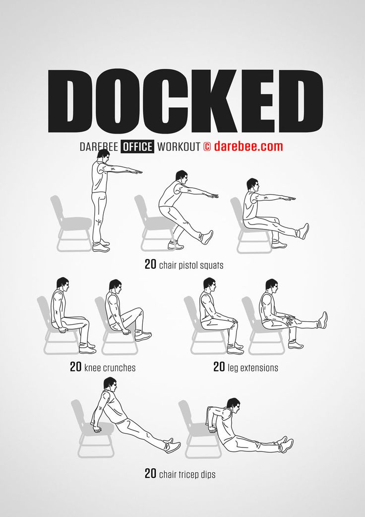 Docked workout.
