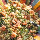 Een heerlijk recept: Gebakken rijst met garnalen