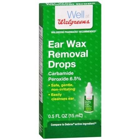 Walgreens Ear Wax Removal Drops - 0.5 oz.