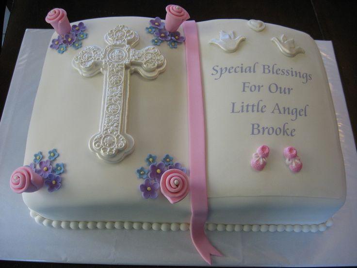 Open Book Baptism Cake Book Cakes Open Book Cakes