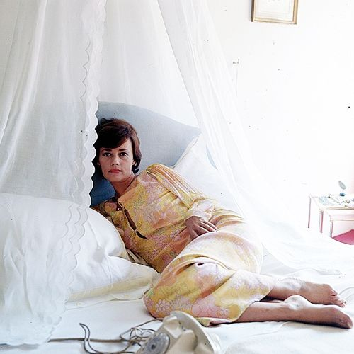 Jeanne Moreau, photographed by Milton Greene, 1963.-1