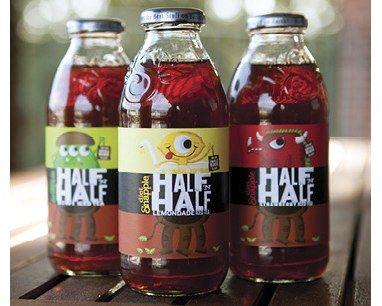 Snapple Half 'n Half packaging: Design Inspiration, Package Design, Design Ideas, Packaging Design, Packaging Graphics, Graphics Design, Epic Packaging, Half Packaging, Graphics Bottle