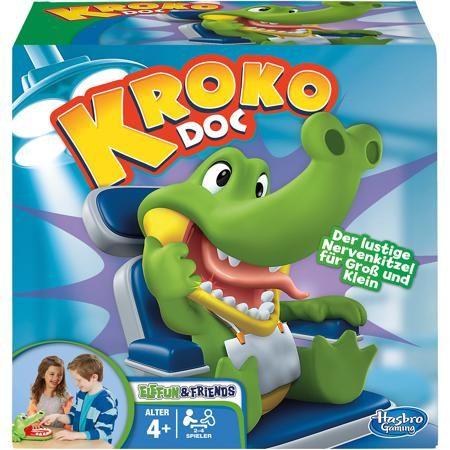 Hasbro Крокодильчик Дантист, Hasbro  — 1699 руб.  —  Крокодильчик Дантист, Hasbro - веселая настольная игра, в которую можно играть всей семьей или компанией друзей. Цель игры - найти больной зуб у забавного крокодильчика. В игре могут участвовать от двух до четырех игроков. Участники по очереди нажимают на зубы крокодильчика, стараясь не попасть на больной зуб. Стоит только надавить на больной зуб как крокодильчик сразу захлопнет рот, что будет означать проигрыш. Победителем становится…