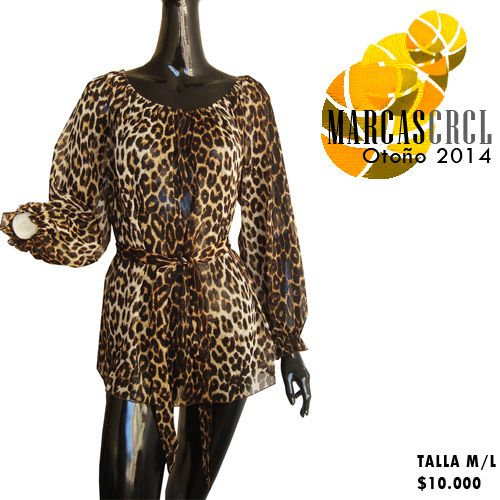 #Blusa #Blouse #Animalprint