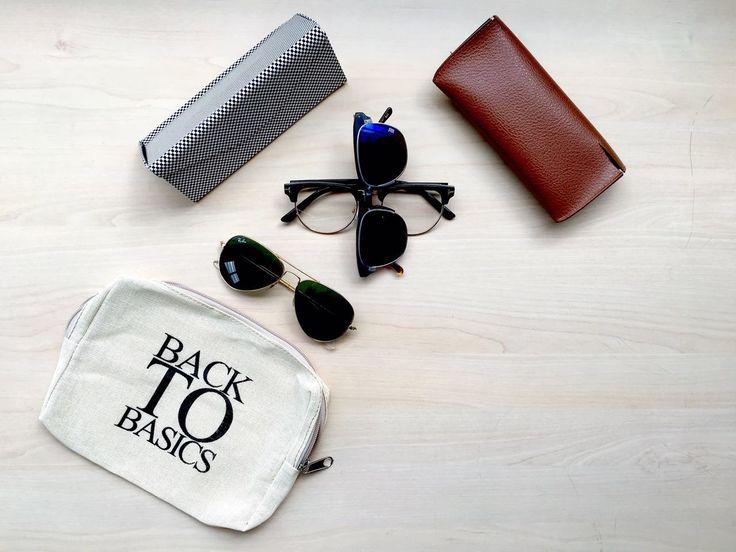 Eco-bag & glasses.