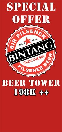 Australia Day - Special Offer Bintang Beer Tower