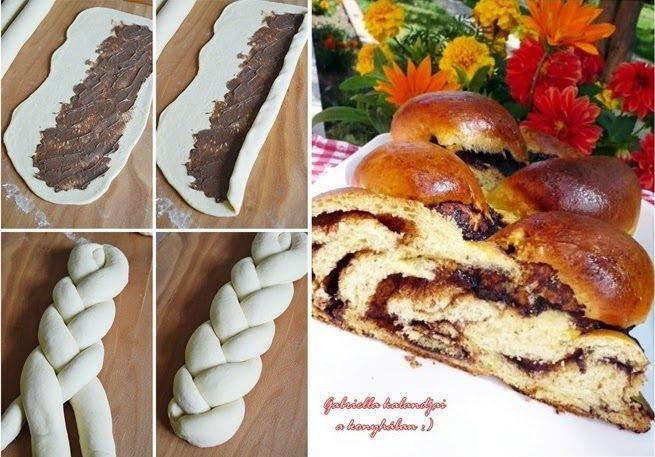 Gabriella kalandjai a konyhában :): Kakaós ostoros kalács + Milán és Chester :)