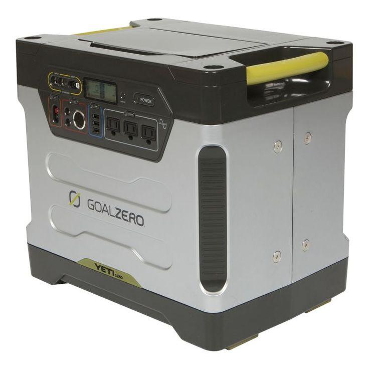 GOAL ZERO® Yeti 1250 Solar Generator Kit | Bass Pro Shops