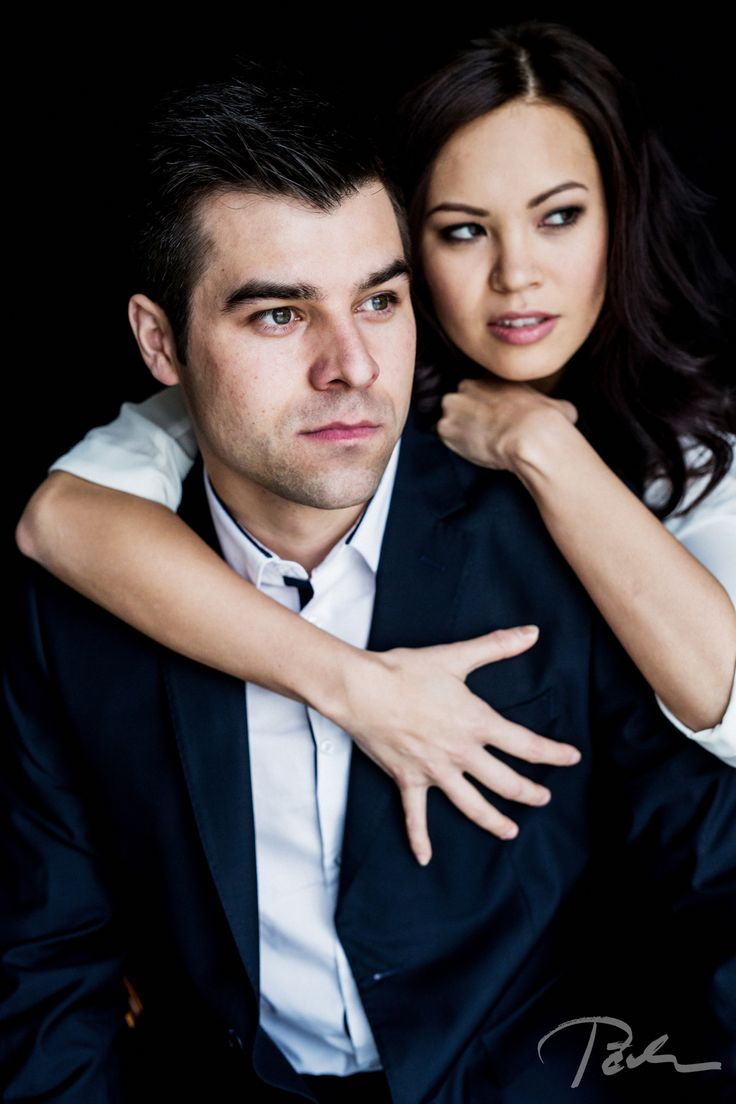 young #fashion #couple in a #photography studio in #prague by pelucha