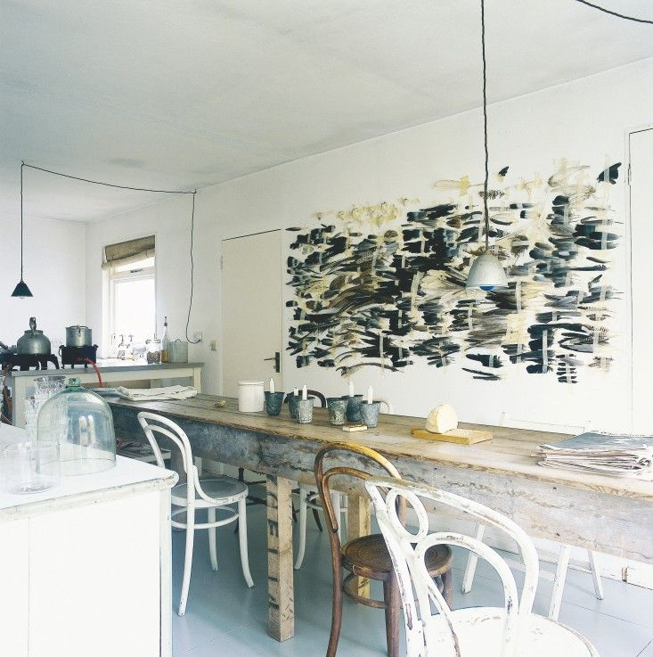 From Collected: Living with the Things You Love by Fritz Karch and Rebecca Robertson, Abrams books  Remodelista