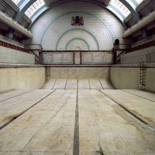 Beautiful abandoned pool.