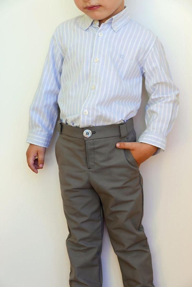 Patrón PDF pantalón niño 2-7 años