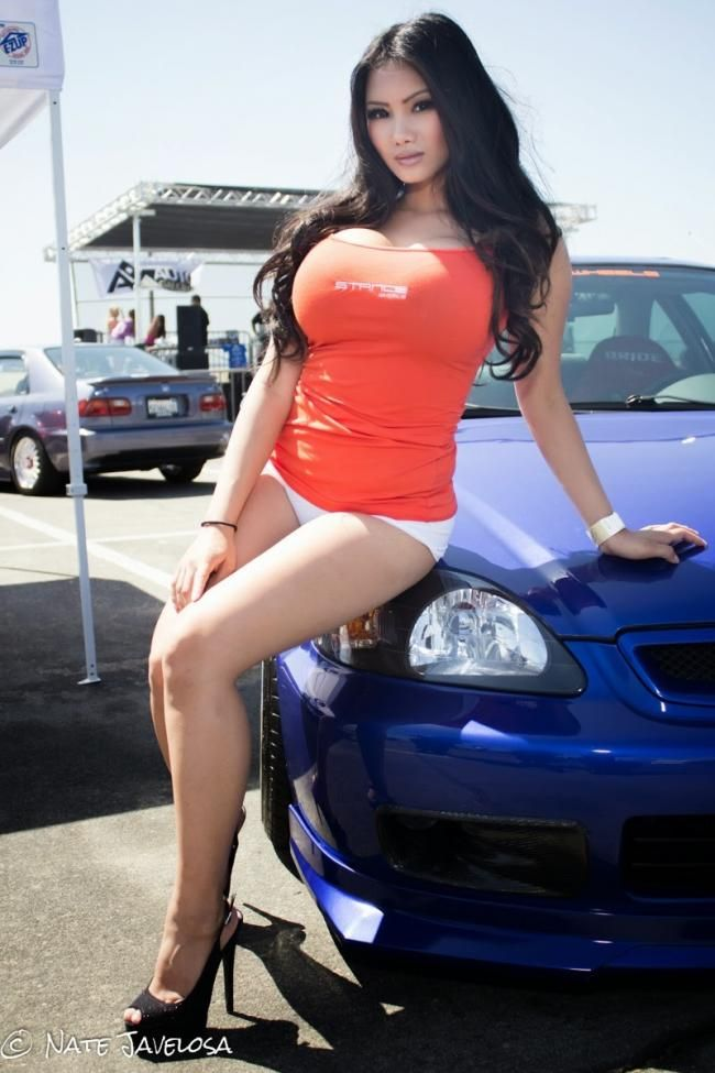 Xena Kai Car Model With Huge Tits Asian Sexy  Bikiniland For Sam -2854