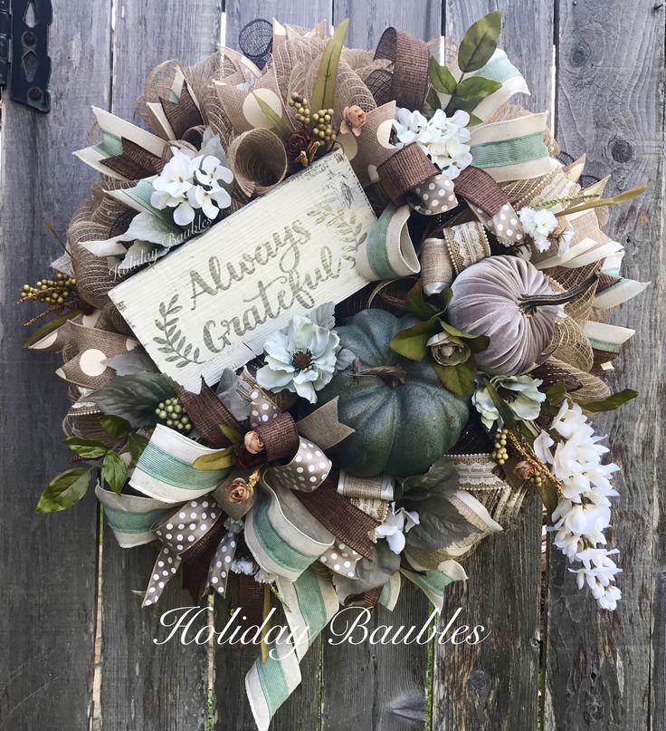 Best 25 Fall Wreaths Ideas On Pinterest Thanksgiving