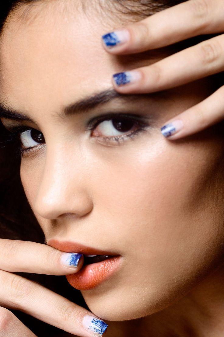 Tendencia Primavera 2013 maquillaje unas manicure esmalte - Mara Hoffman