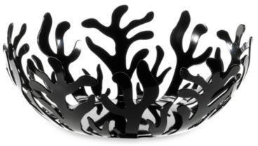 Alessi Mediterraneo Fruit Bowl in Black