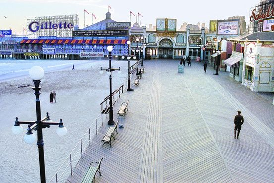 the rebuilt Atlantic City Boardwalk of 1920, on the Eve of Prohibition ... Prohibition 1920 Signs