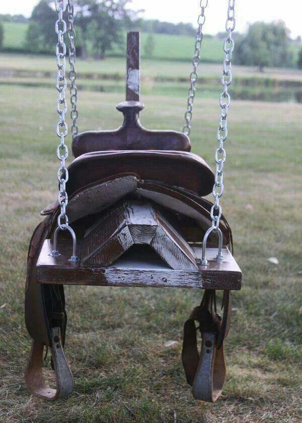 DIY PROJECTS - Saddle Swing