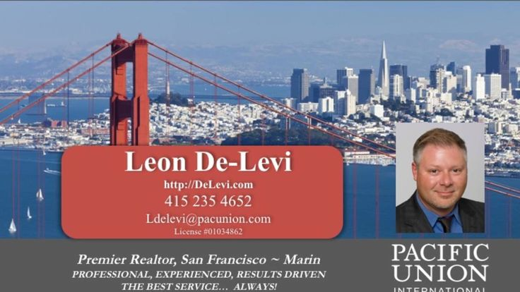 San Francisco Realtor with 28 years experience. Sell your home for Top Dollar with Leon  https://gp1pro.com/USA/CA/San_Francisco/San_Francisco/1699_Van_Ness_Ave.html  San Francisco Realtor with 28 years experience. Sell your home for Top Dollar with Leon De-Levi. San Francisco Realtor with more than 25 years experience. Sales Leader. Real Estate Broker. Innovative, high-tech marketing system, designed to generate the absolute highest price for your home. Professional Service with the highest…