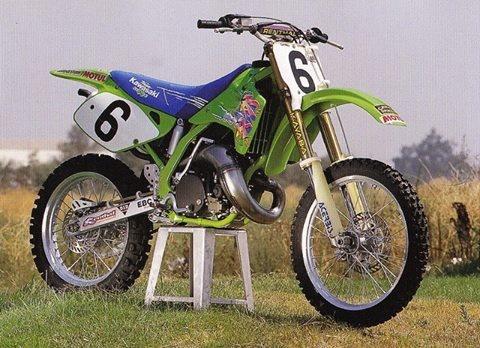 Jeff Wards 1992 Kawasaki KX250 SR