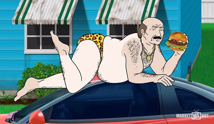 Carl's Jr Aqua Teen Hunger Force Commercial