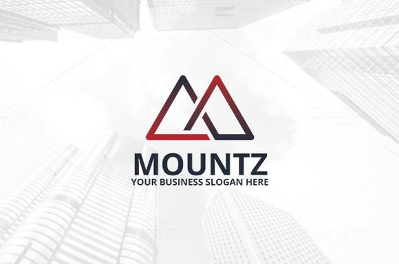 Mountz Logo Template by atsar on Creative Market