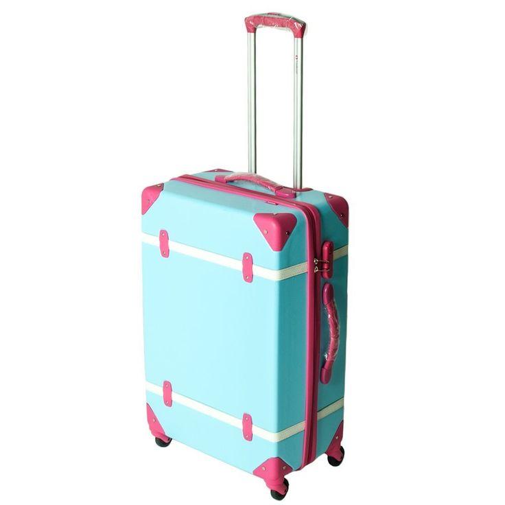 Pinterest'teki 25'den fazla en iyi 4 wheel suitcase fikri ...