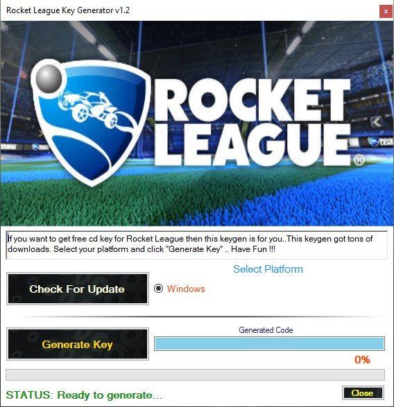 Rocket League Product Key Generator V1 2 Rocket League Rocket