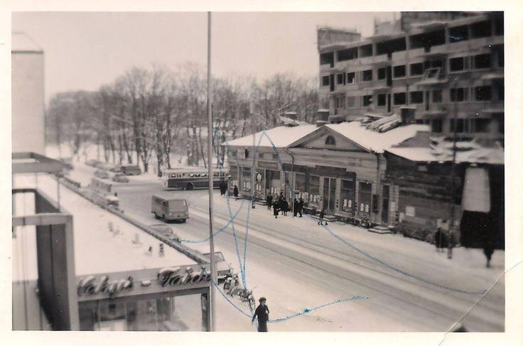 Eerikinkatu 2 in 1963