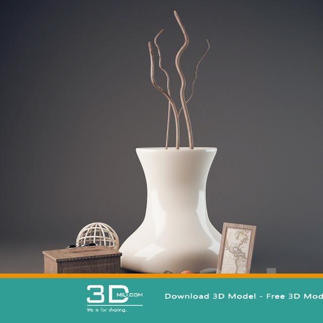 cool 266 decorative set 3d model free download download here https