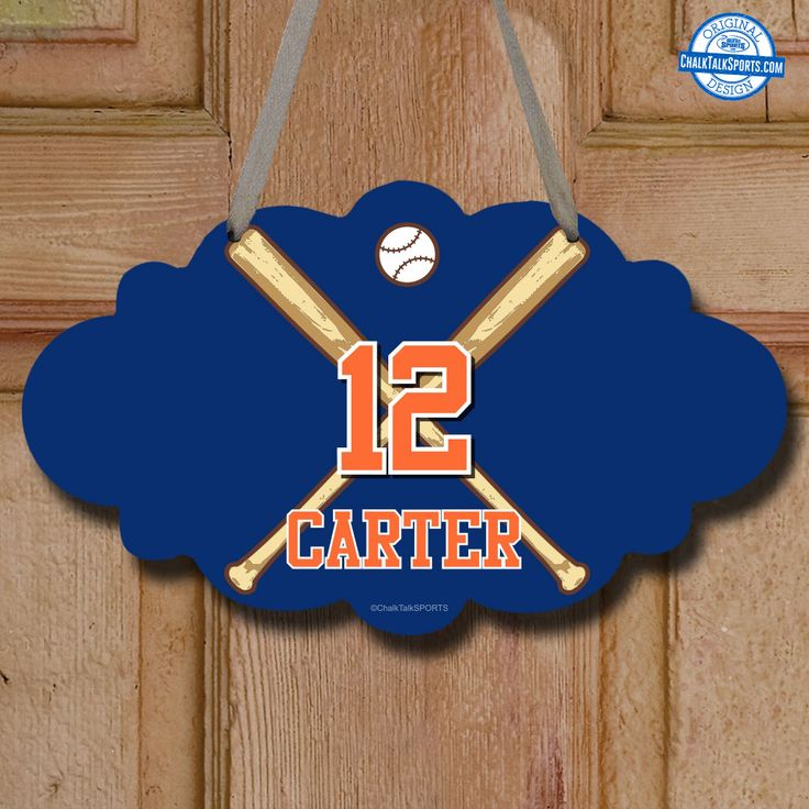 Baseball Room Decor Signs