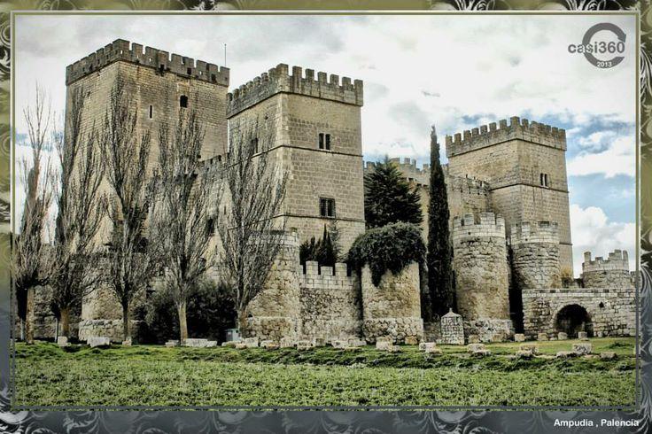 Castillo de Ampudia , Palencia