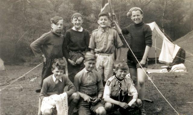Camping/Scouting 1951