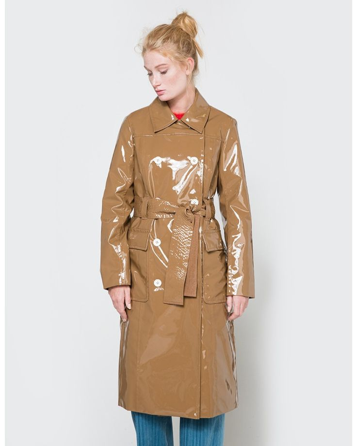 Trademark | Multicolor Patent Trench | Lyst