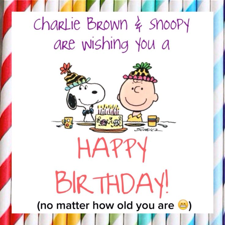 Happy New Year Charlie Brown Quotes: 97 Best Images About Peanuts Gang Birthday On Pinterest