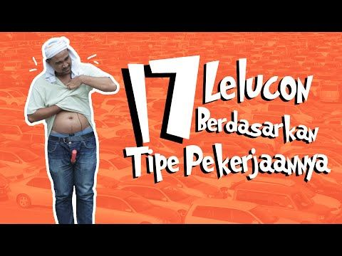 17 Lelucon Berdasarkan Tipe Pekerjaannya feat. Crack an Egg - YouTube - Could be used for introducing occupations