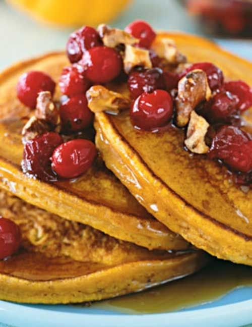 Recipe for Pumpkin Cinnamon Pancakes - Fall is almost upon us so it is time to start thinking pumpkin. And what better way to start than with breakfast.
