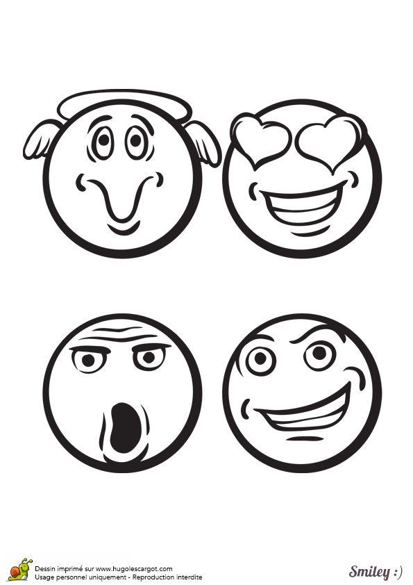 17 meilleures images propos de coloriages smiley sur - Smiley coloriage ...