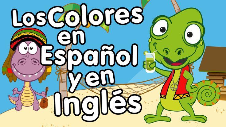 Canción de los Colores en Inglés y Español - Canción para niños - Songs ...