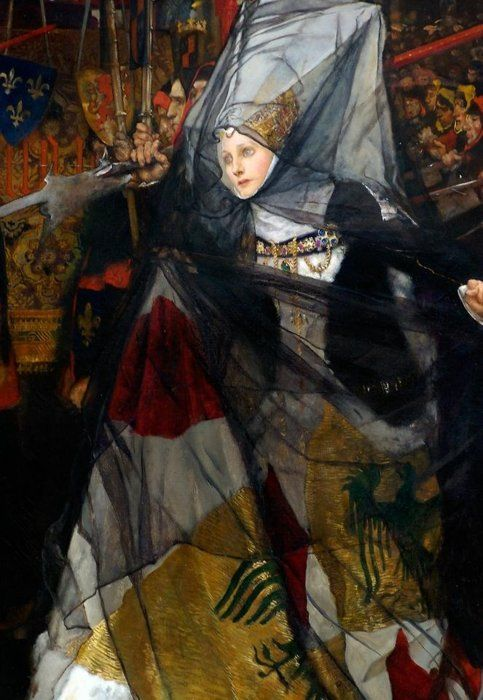 Edwin Austin Abbey    Detail from Richard, Duke of Gloucester, and the Lady Anne (1896)